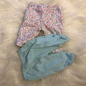 Matching Sets - Unicorn & Floral Onesie & Capri Leggings 5 piece